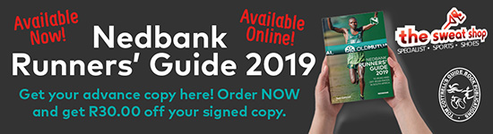 Runners' Guide 2019 discount banner - Side bar Sweatshop